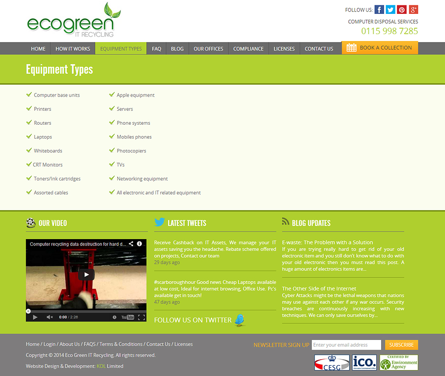 Ecogreen IT Recycling