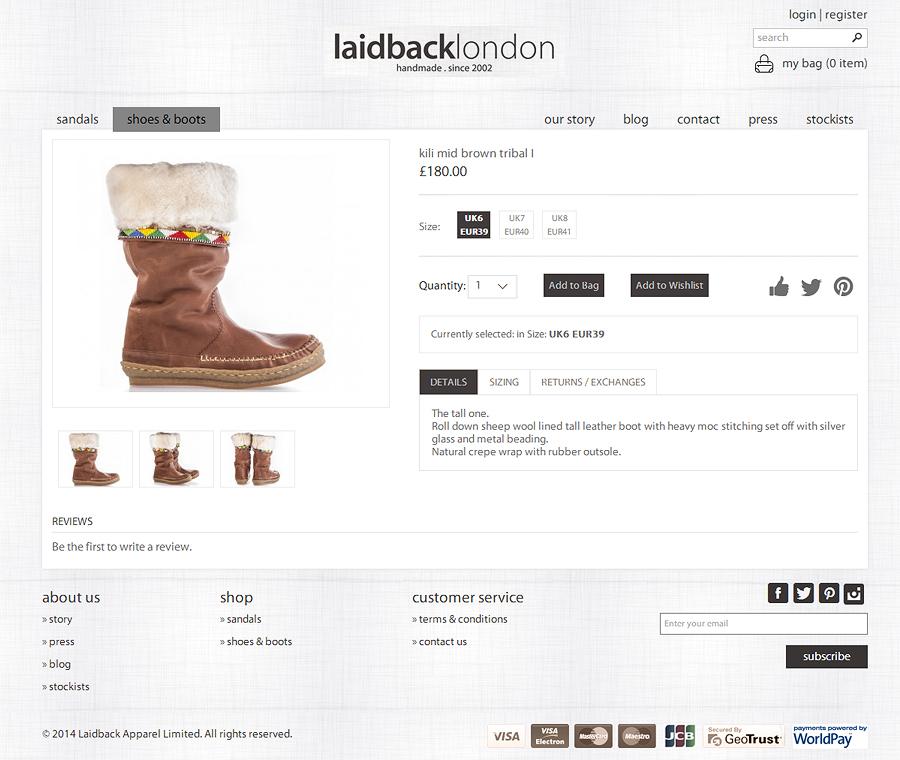 Laid Back London