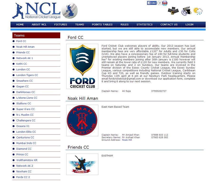 National Cricket League