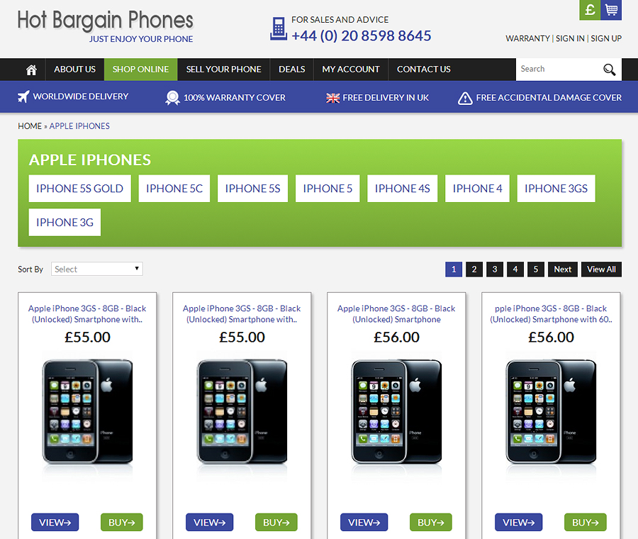 Hot Bargain Phones