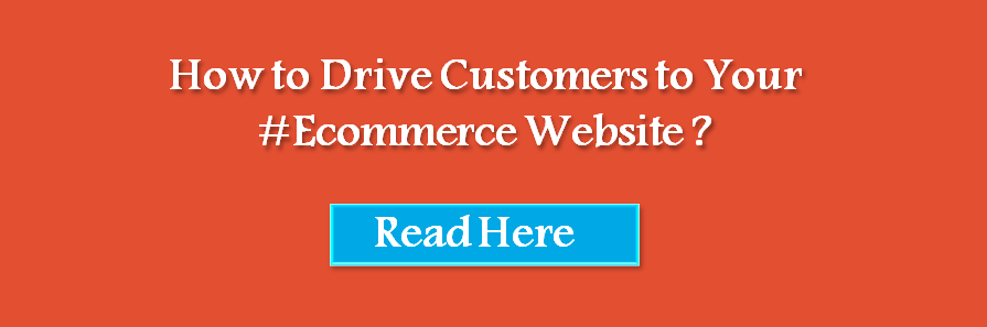 drive customers to ecommerce website