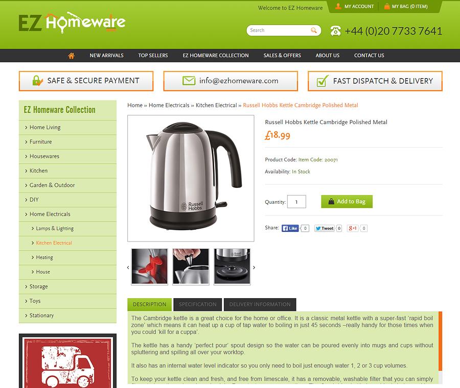 EZ Homeware