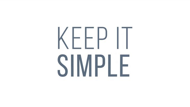 keep it simple-2