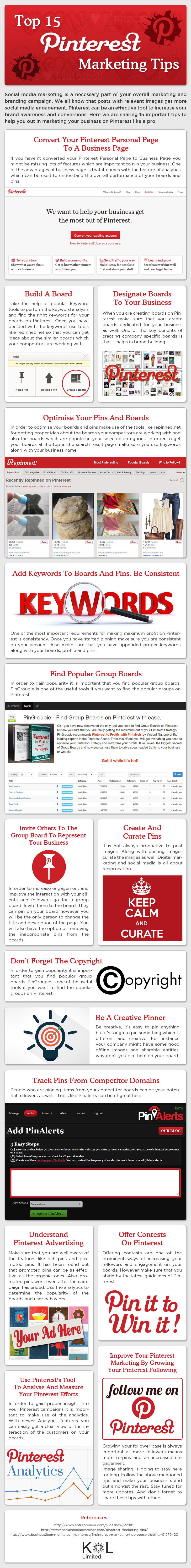 Top 15 Pinterest Marketing Tips