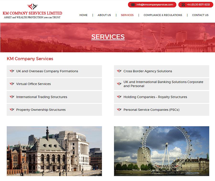 Km Company Services