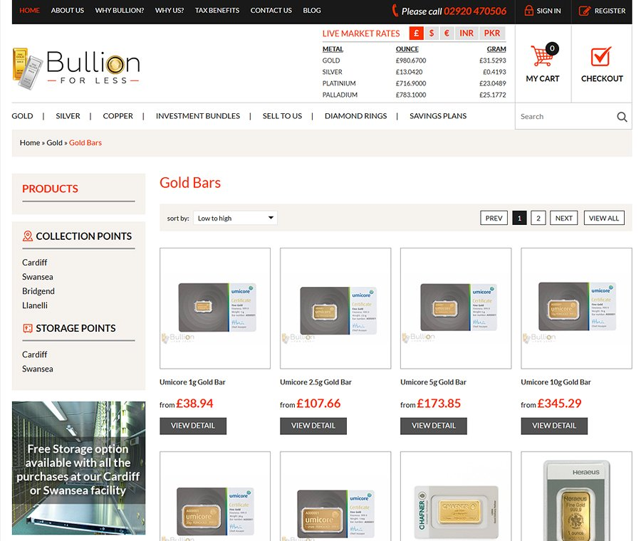 Bullion For Less