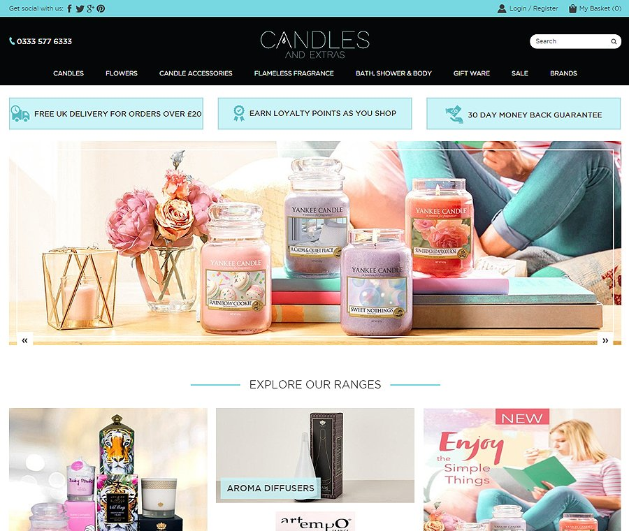 Candles And Extras
