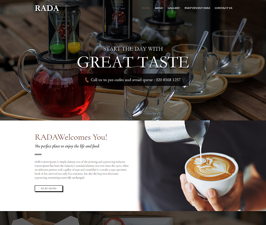 Rada Coffee Shop
