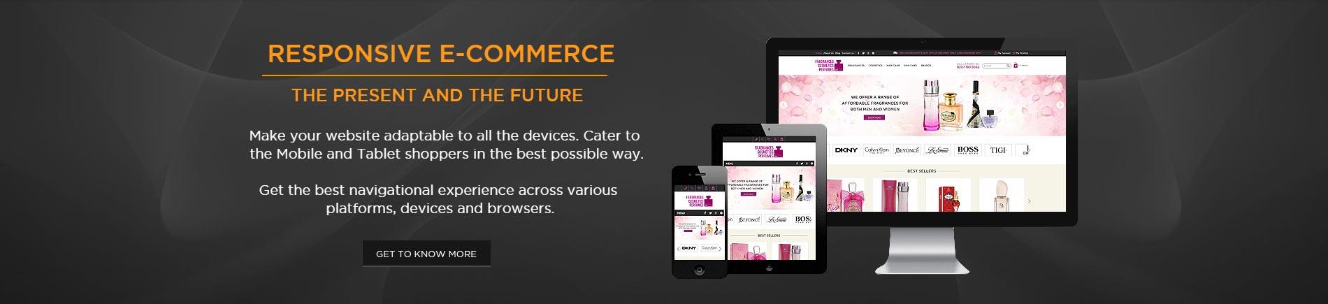 Responsive E-Commerce Development - KOL Limited