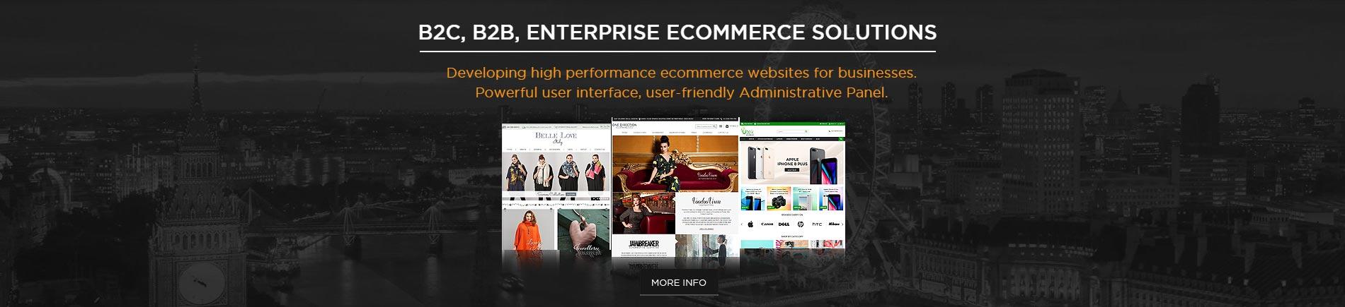B2C, B2B, Enterprise Ecommerce Solutions - KOL Limited