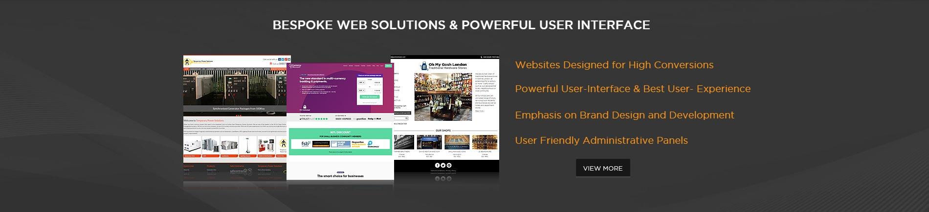 Bespoke Web-UI Development - KOL Limited